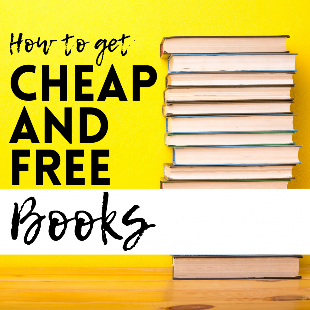 how to get cheap and free books